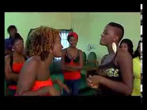 MERCY JOHNSON IN DIRTY FIGHT