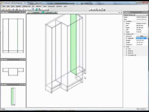 Furniture design software quick and easy design with p for Easy blueprint software