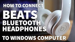How to Pair Beats Solo 2 to Windows PC – Connect Beats Bluetooth Headphones Wirelessly