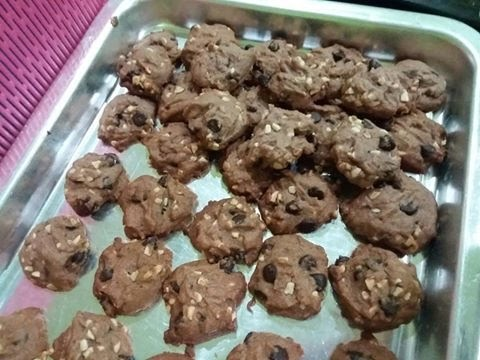 Resepi Raya 2016 : Famous Amos Cookies!