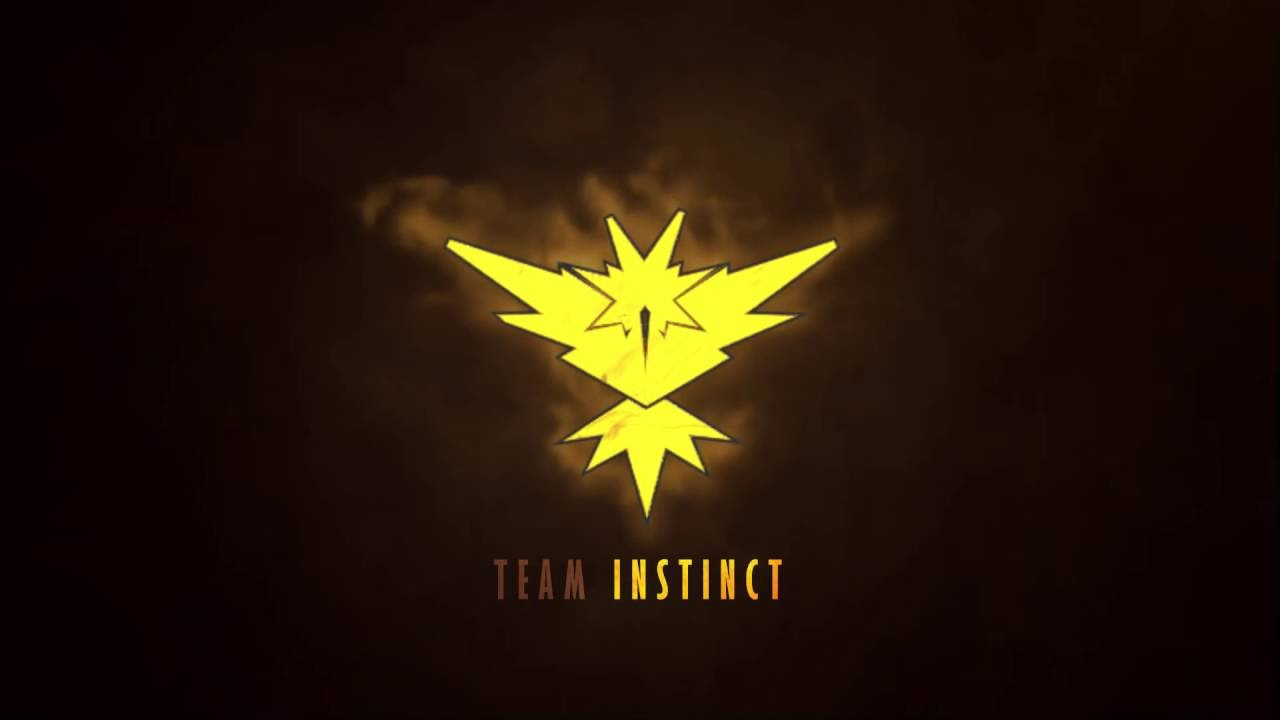 Team Instinct Wallpaper Pokemon Go: Intro - YouTube