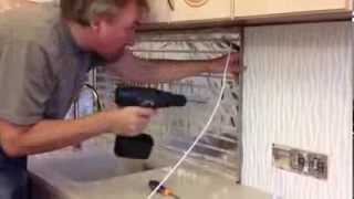 видео Установка кухонного фартука из МДФ