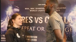 CATCHWEIGHT ANYONE? - KATIE TAYLOR v LAWRENCE OKOLIE GO HEAD TO HEAD! / LINARES v CROLLA II