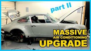 Vintage Porsche 911 AC Upgrade Part 2: Alternator & condenser, & RAD vents for the Classic Retrofit!