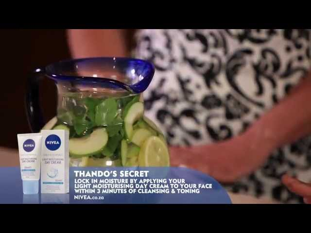 Essential Secrets To A Healthy Looking Skin with Thando Thabethe & NIVEA: HEALTHY EATING