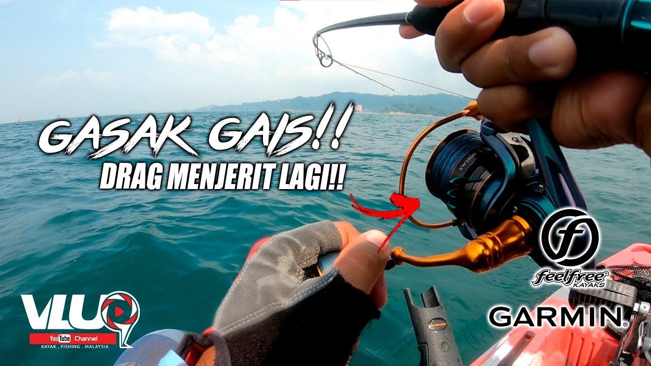 GASAK setelah LAMA TAK TURUN!! - VLUQ#231 | Kayak Fishing Malaysia
