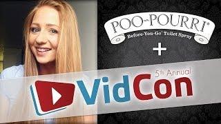 Poo~Pourri + VidCon 2014 = Flush Yeah!