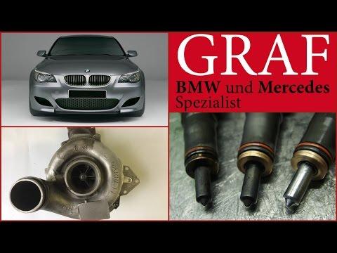 BMW 525d 197 ps E60 Injektoren BMW E61 525d Partikelfilter BMW 525d Automatikgetriebe 6hp E60 LCI