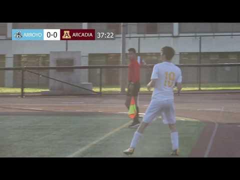 CIF-SS Playoff Wildcard, Boys Soccer 2018: Arroyo @ Arcadia