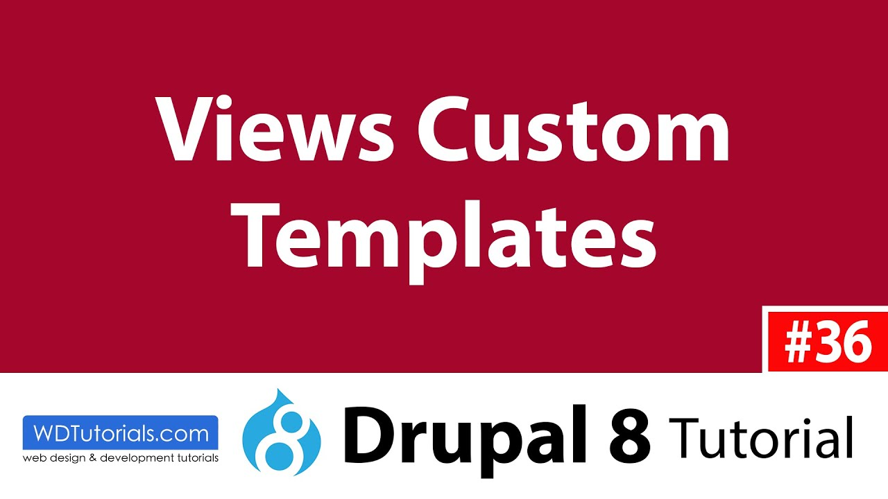 Drupal 8 how to create a custom template for a view for Drupal custom view template