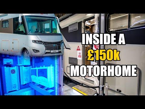 £150,000 Mansion On Wheels / Frankia Titan... Lost In Europe //204