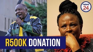 WATCH: Ramaphosa's Bosasa battle over R500k donation explained