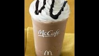 HOW TO: Make Iced Mocha Coffee McDonalds Recipe