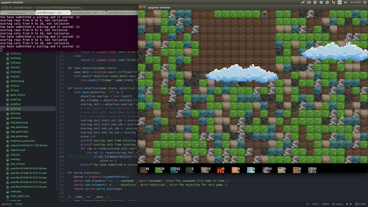 How to make a game with Pygame — Part 2 - Yvan Scher - Medium