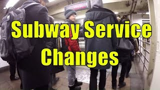 Nightmare NYC Subway Rush Hour Commute from Astoria, Queens to Wall Street - Highlights