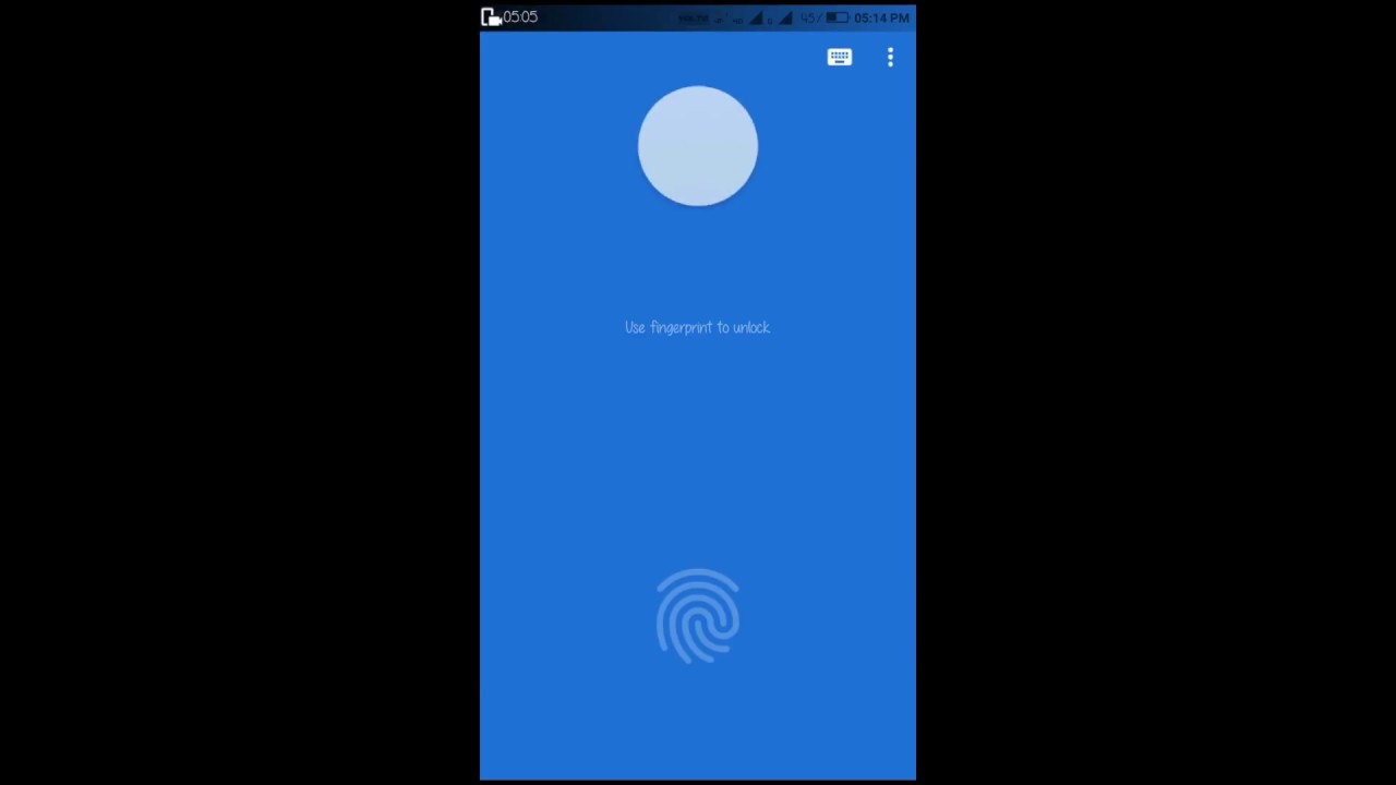 How to download fingerprint applock and use on any android phone1
