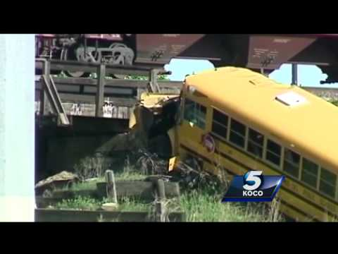 Mid-Del district hired bus driver charged in crash despite past DUI