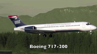 U.S Airways Concept Fleet