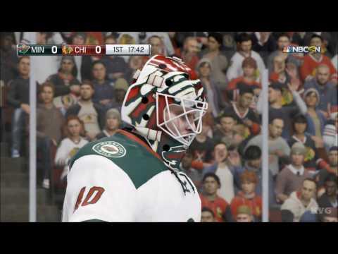NHL 17 - Minnesota Wild vs Chicago Blackhawks   Gameplay (HD) [1080p60FPS]