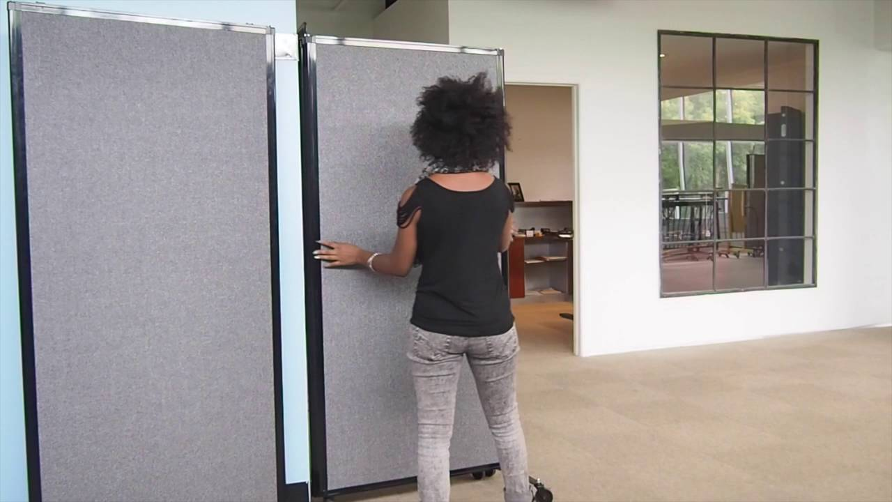 Versare Quick Wall Portable Room Dividers Wall Mounted Partitions