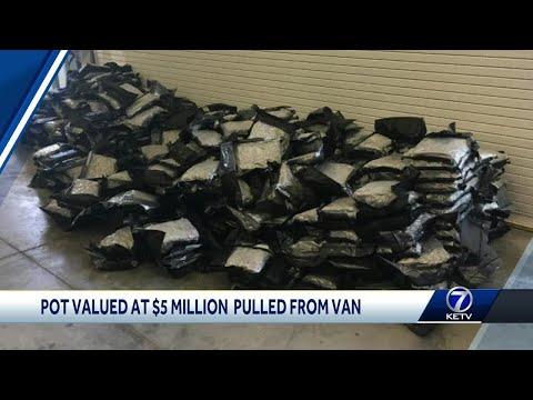 Sarpy County deputy pulls 1,000 pounds of marijuana off Interstate 80