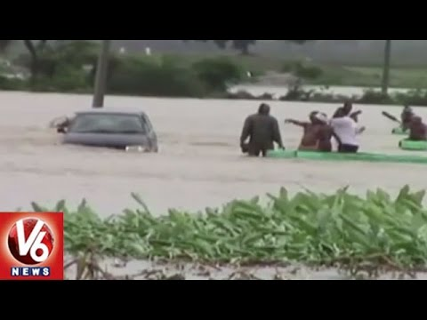 Heavy Rains Lashed In All Districts Of Telangana || V6 News