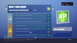 SEASON 6 ENDING SOON! Will I get Tier 100? (Gift Me Items) Fortnite Live Stream Playing with Viewers