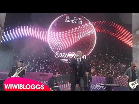 Live: Voltaj (Romania) De la Capat / All Over Again @ Eurovision Village | wiwibloggs