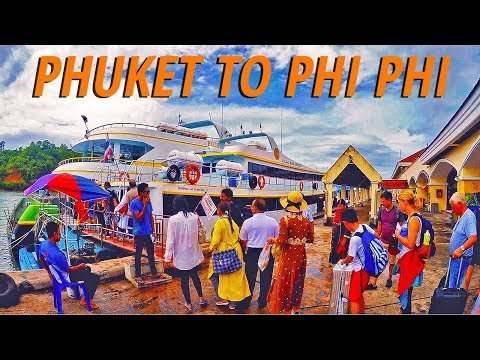 Ferry or boat from Phuket to Koh Phi Phi Islands