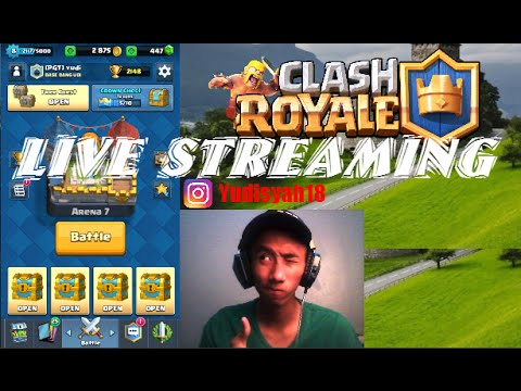 LiveStreaming Clash Royale Indonesia (with Base Bang Udi)