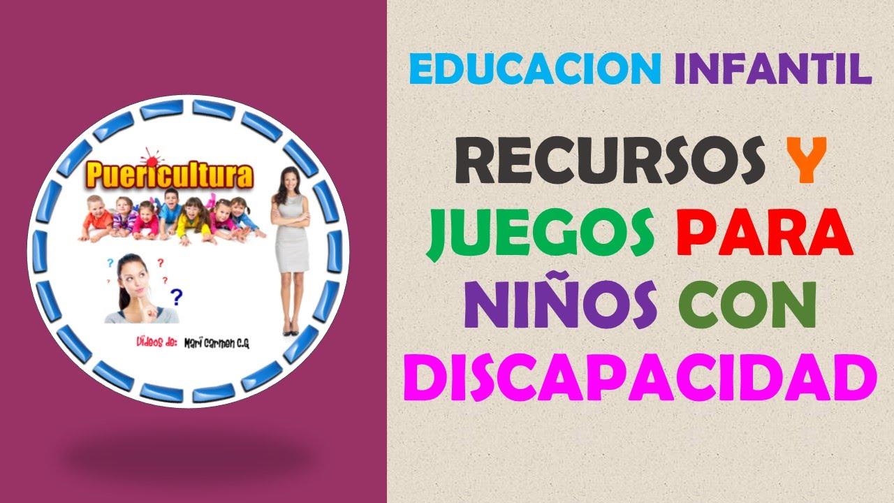 Juegos Para Ninos Con Discapacidad Visual Auditiva Intelectual