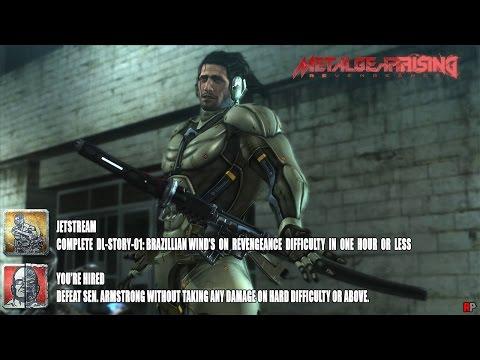 Metal Gear Rising: Revengeance - Jet Stream (DLC) Jetstream & You're Hired Achievement