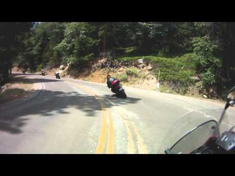 2010 Blarking Felchers ride - Highway 190.