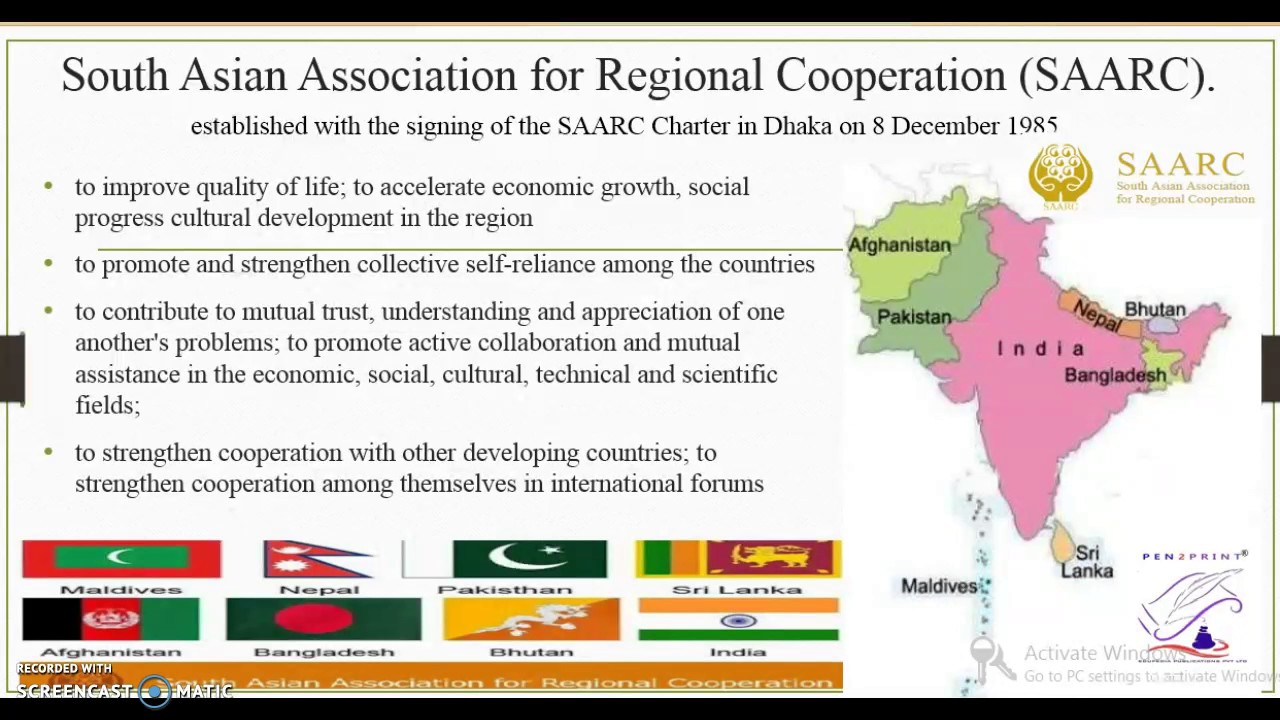 South asian association regional cooperation