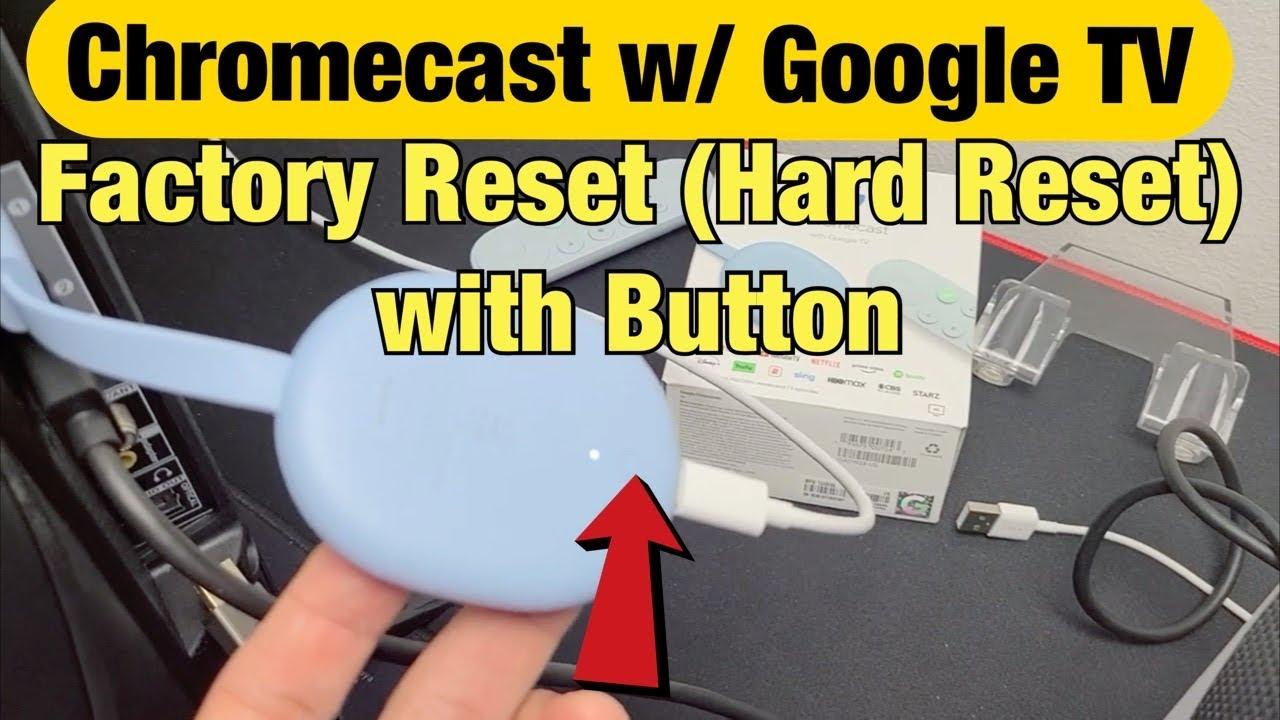 So starten Sie Ihren Google Chromecast neu oder setzen ihn auf die