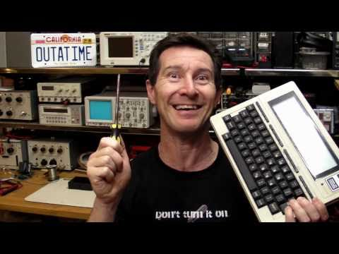EEVblog #116 - Retro Teardown - Tandy Radio Shack TRS-80 Model 100