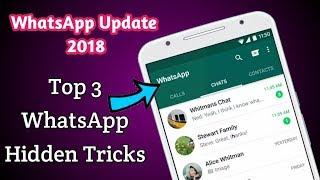 Top 3 WhatsApp Hidden Tricks 2018 Update | Play Tamil |