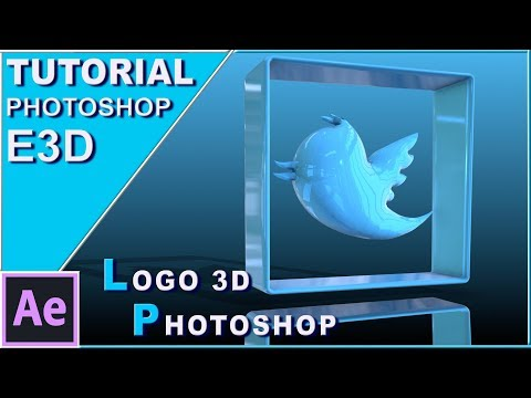 LOGOS 3D Con PHOTOSHOP Y Animados Con ELEMENT 3D TUTORIAL   AFTER EFFECTS