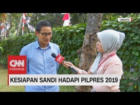 Eksklusif! Kesiapan Sandiaga Uno Hadapi Pilpres 2019; Cawapres Prabowo