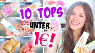 10 Drogerie MUST HAVES ♡ für UNTER 1€!! |BarbieLovesLipsticks