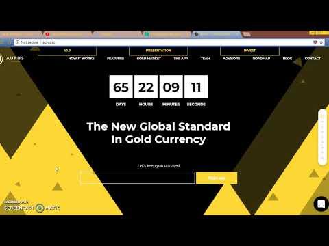 AURUS coin: trade gold anywhere