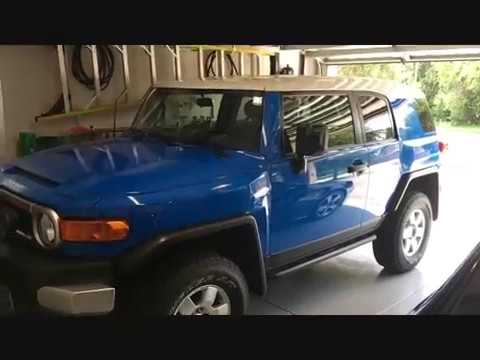 My very first YouTube upload showing some FJ Cruiser Mods