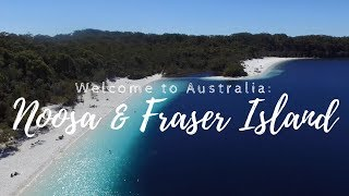 Travel Vlog: Welcome to Australia - Noosa and Fraser Island thumbnail