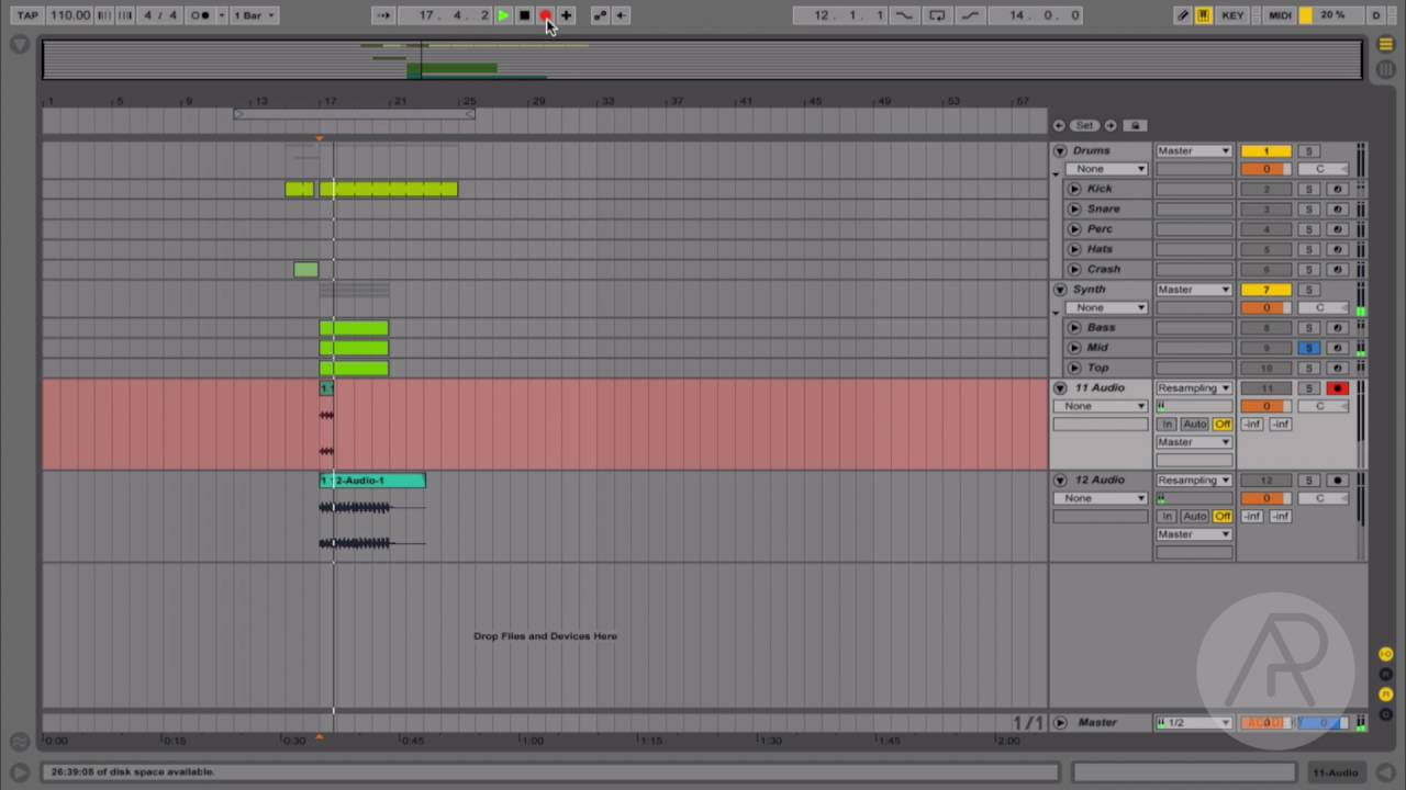 Ableton Quick Tip - Reverse a sample in Ableton