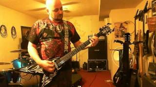 Random Slayer Riffs with my BC Rich Kerry King Signature V