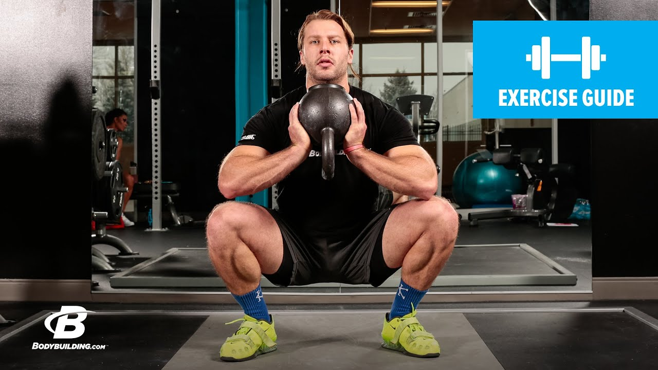 Kettlebell Bodybuilding Kettlebell Sumo Squat Exercise Guide
