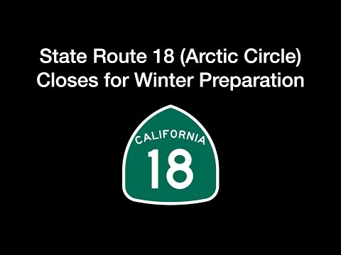 State Route 18 Arctic Circle Winter Prep Work Begins