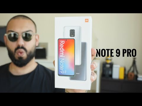 Redmi Note 9 Pro UNBOXING and REVIEW