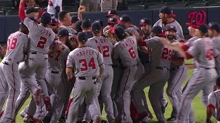 Nationals clinch the 2014 NL East division