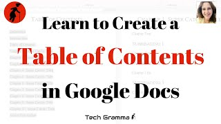 How to Create a Google Docs Table of Contents